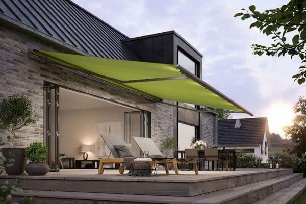Comment protéger la terrasse de la pluie?