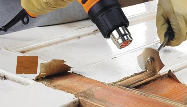Comment enlever la peinture du bois?