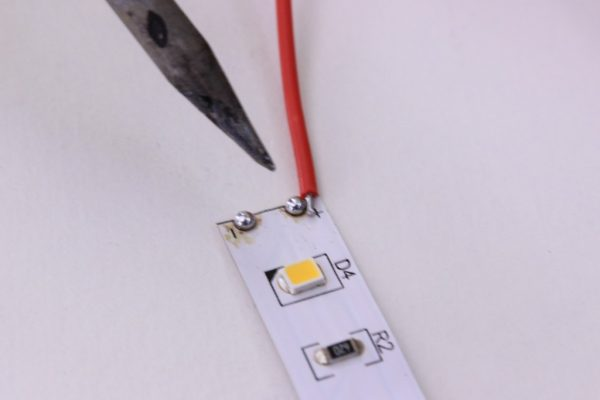 Comment couper le ruban LED ?